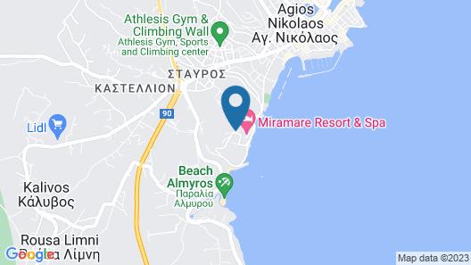 Miramare Resort & Spa Map