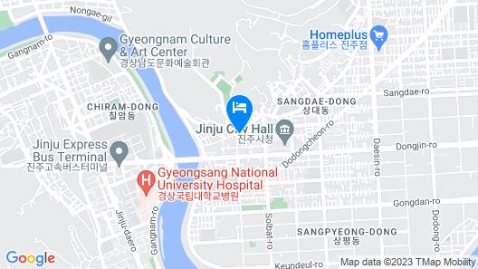 Jinju Guesthouse Guest H Map