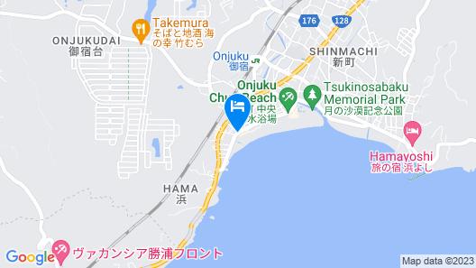 Sayan Terrace Hotel & Resort Map
