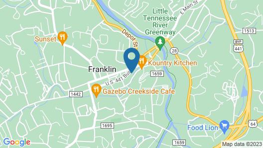 Hilltop Inn Map