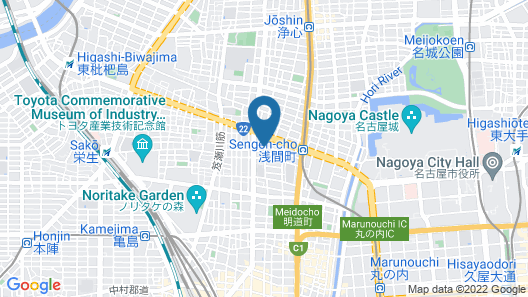 Guest house Re-worth Sengencho1 Map