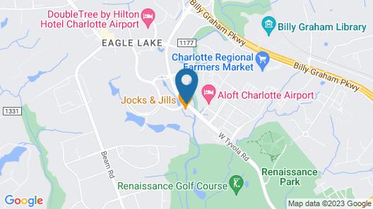 Hyatt Place Charlotte Airport/Lake Pointe Map