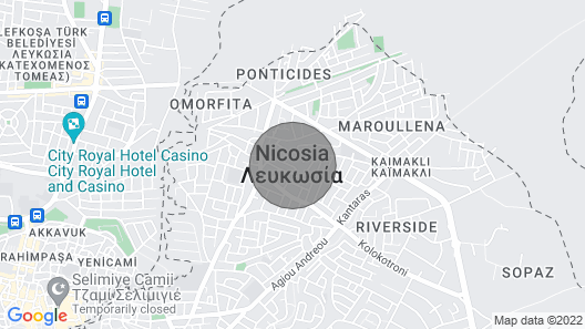 1 Bedroom Apartment Map