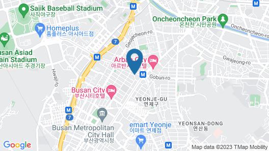 17th Hotel Map