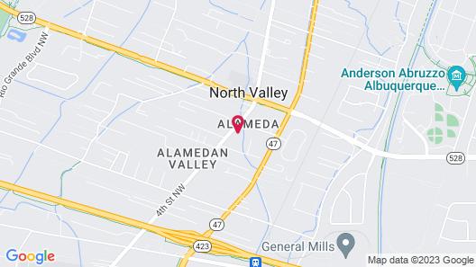 Alameda Place Studio Map