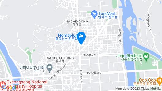 Jinju Hotel Daom Map