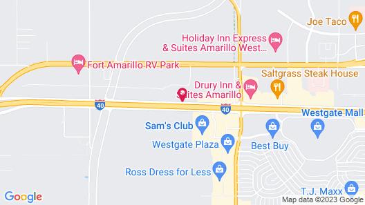 Homewood Suites by Hilton Amarillo Map