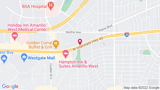 Red Roof Inn Amarillo West Map