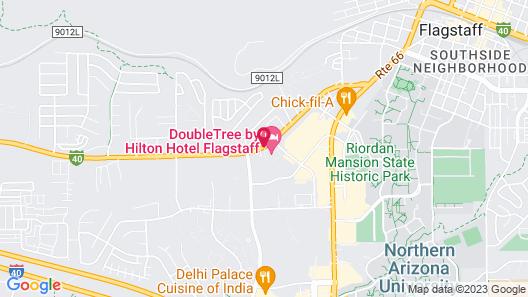 DoubleTree by Hilton Hotel Flagstaff Map