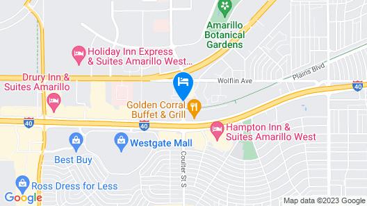 La Quinta Inn by Wyndham Amarillo West Medical Center Map