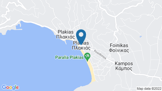 Hapimag Resort Damnoni Map