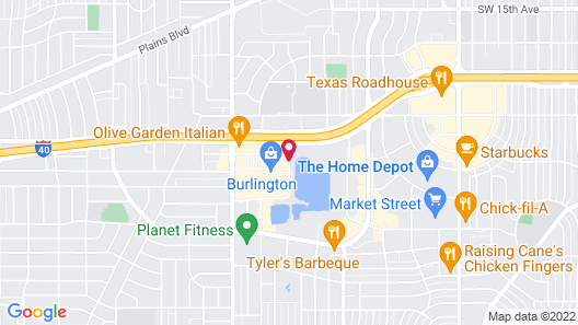 Staybridge Suites Amarillo - Western Crossing Map