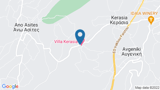 Villa Daskalogianni Map