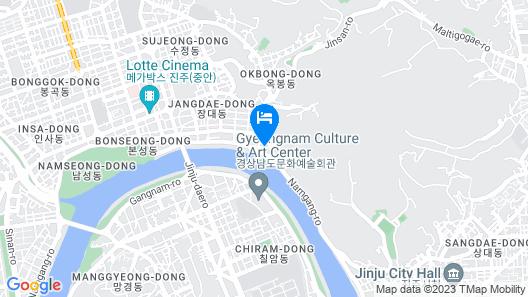 Hotel DongBang Map