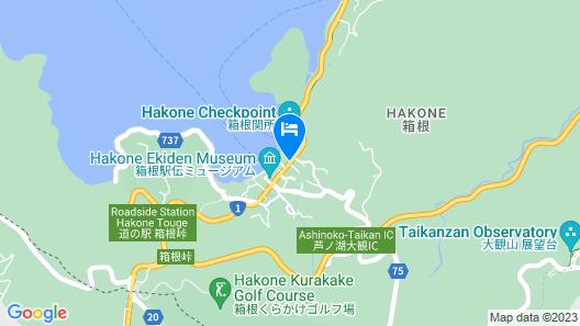 Hakone Hotel Map