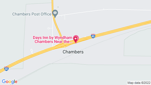Days Inn by Wyndham Chambers Near the Petrified Forest East Map