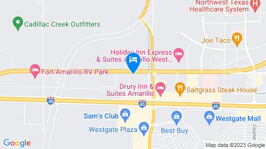 Hyatt Place Amarillo-West Map