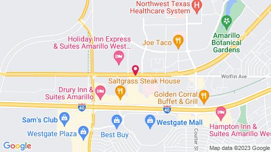 Home2 Suites by Hilton Amarillo Map