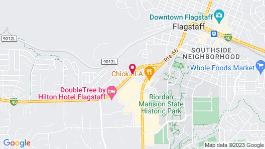 Days Inn by Wyndham Flagstaff Near Downtown/NAU on Route 66 Map