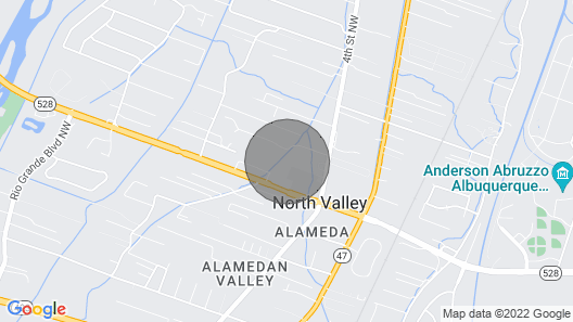 New! Quaint Albuquerque Abode w/ Private Backyard! Map