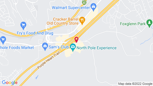 Little America Flagstaff Map