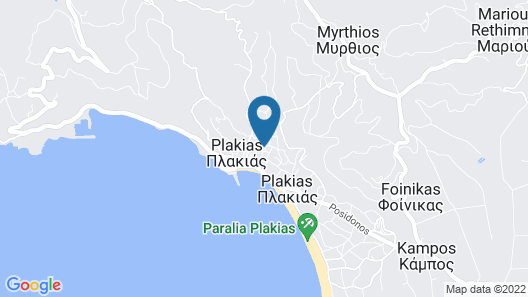 Plakias Riviera Map