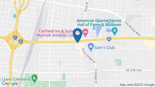La Quinta Inn by Wyndham Amarillo Mid-City Map