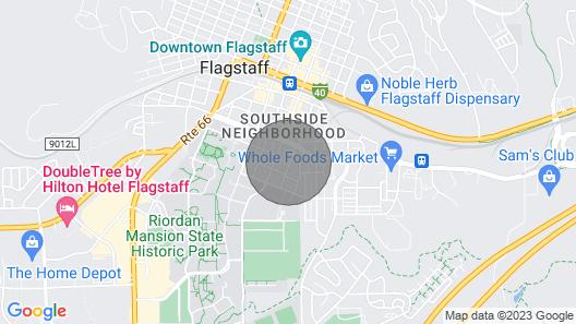 New! AZ Home w/ Proximity to Golf, Downtown & Nau! Map