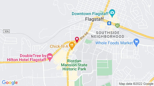 Embassy Suites by Hilton Flagstaff Map