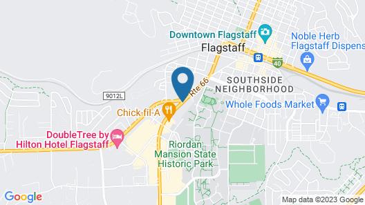 Embassy Suites Flagstaff Map