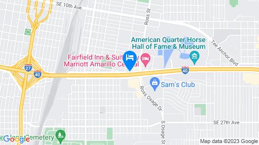 Days Inn by Wyndham Amarillo East Map