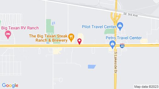 Hampton Inn & Suites Amarillo East Map