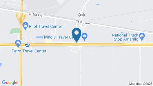 Fairfield Inn & Suites Amarillo Airport Map