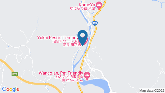 Yukai Resort Yubaraonsen Terunoyu Map