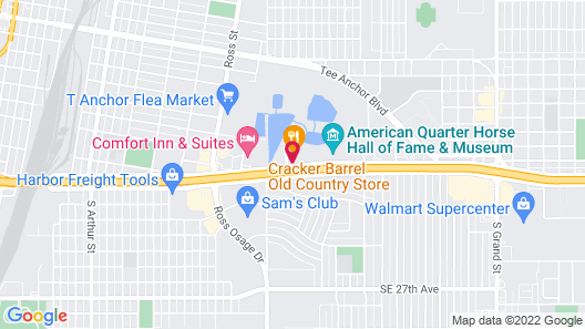 Ashmore Inn & Suites Map