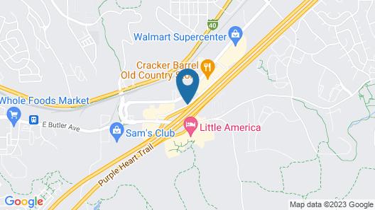 Comfort Inn Lucky Lane Map