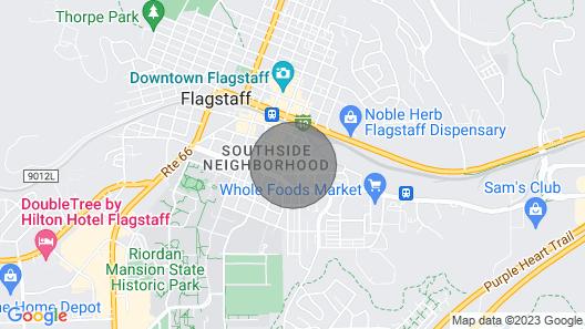Walk Downtown Flagstaff Map