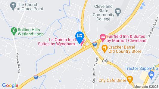 La Quinta Inn & Suites by Wyndham Cleveland TN Map