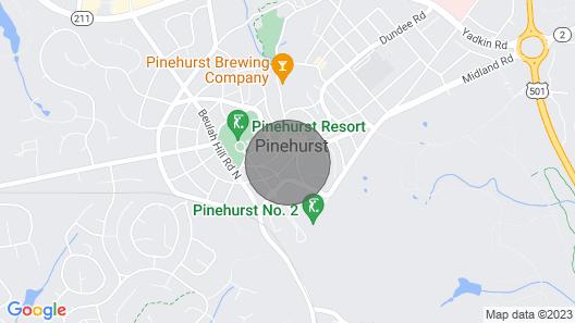 Perfect Pinehurst Location/white Glove Service Map