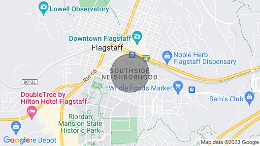 Historic Downtown Casa Bonita Map