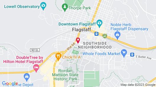 Drury Inn & Suites Flagstaff Map