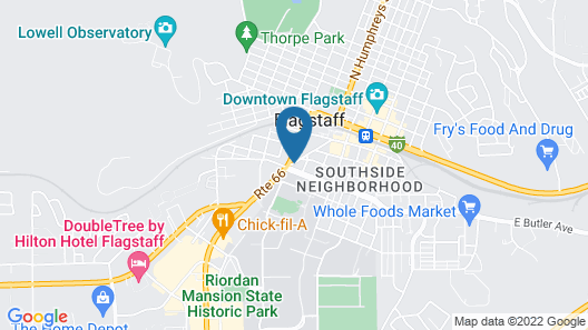 Country Inn & Suites by Radisson, Flagstaff Downtown, AZ Map