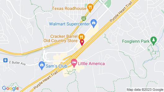 Super 8 by Wyndham Flagstaff I-40 Ex 198 Lucky Lane Map