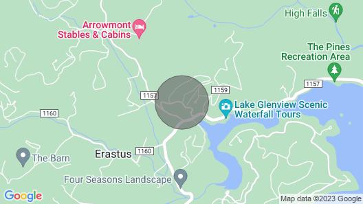 Glen Laurel Cabin - Great Mountain Retreat! Map