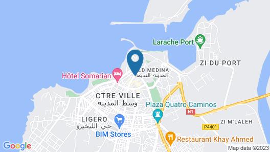 Hotel España Map