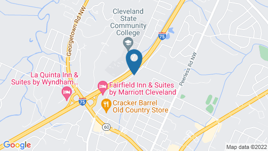 Fairfield Inn & Suites by Marriott Cleveland Map