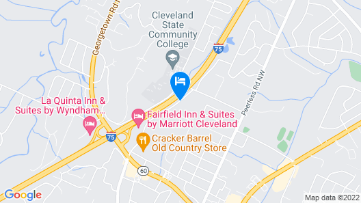 Fairfield Inn & Suites by Marriott Cleveland Map
