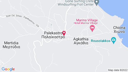 Hiona Holiday Hotel Map