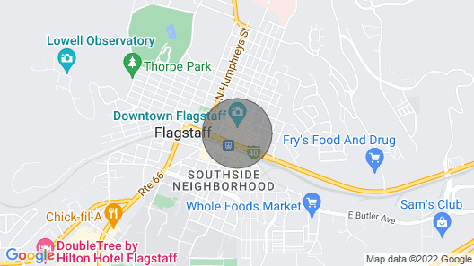 Downtown Flagstaff, Location, Location, Location!! Map