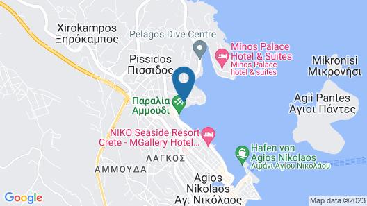 Hotel Polydoros Map